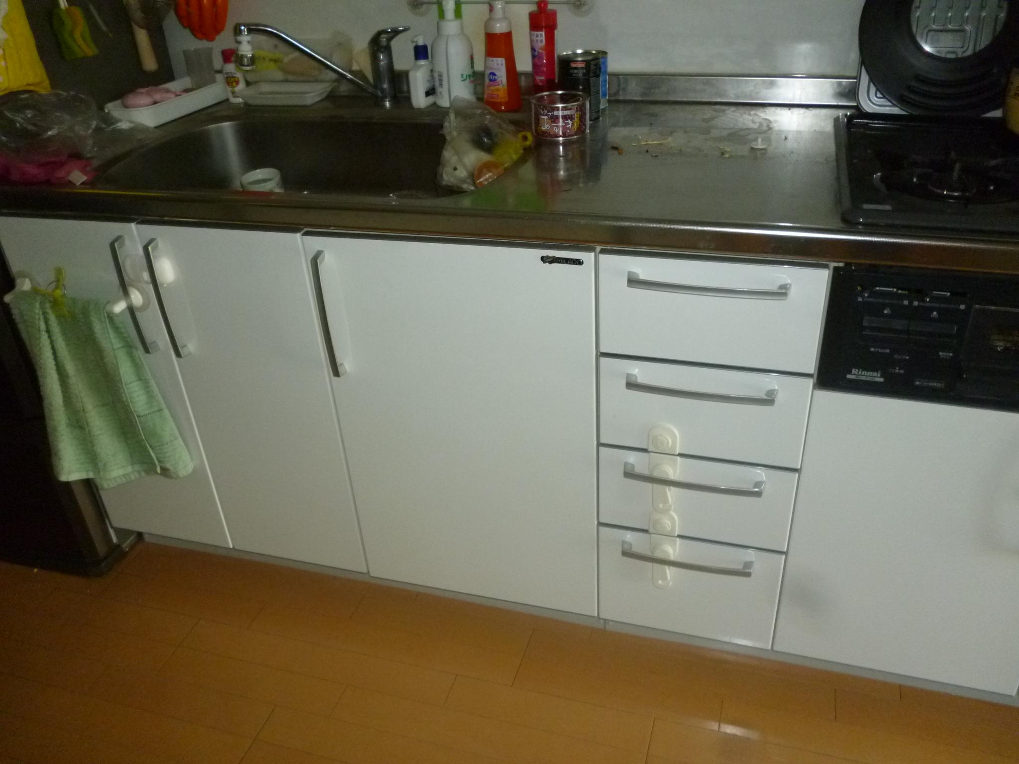 Panasonic食器洗乾燥機 NP-45MS6W 設置工事
