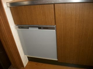 Panasonic 食器洗乾燥機 NP-45MS6S / TOTO  TKGG38E1 交換工事