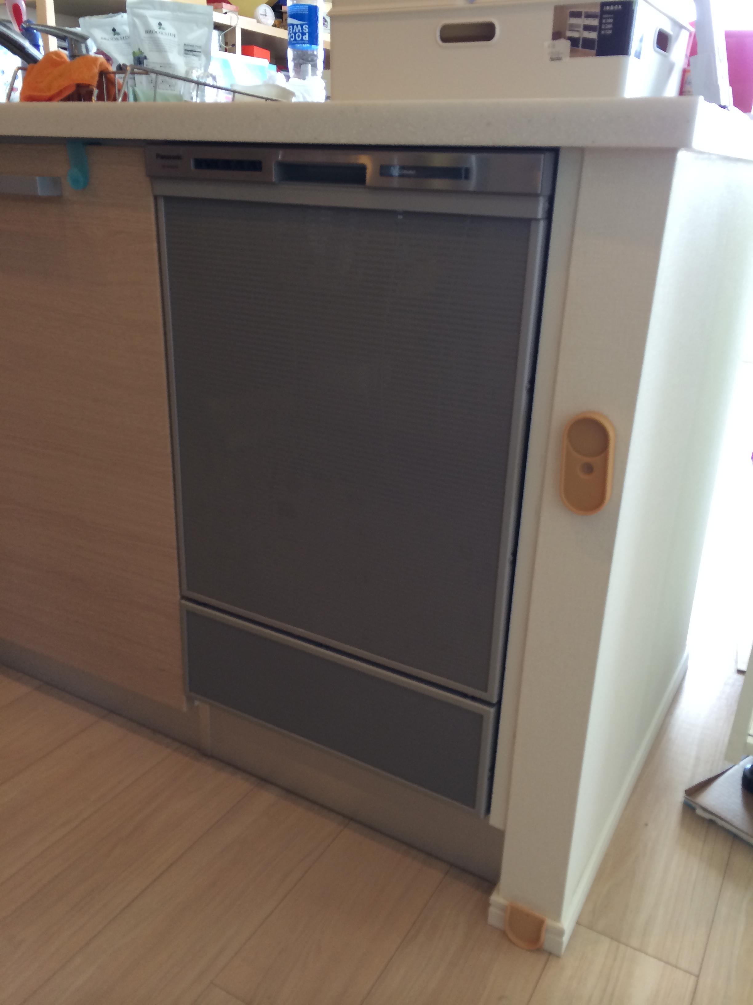 Panasonic 食器洗乾燥機 NP-45MD6S 設置工事