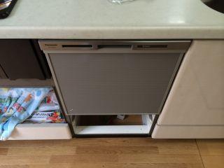 Panasonic 食器洗乾燥機 NP-45MS6S / リンナイ ビルトインコンロ RB71AM3B1RBW 交換工事