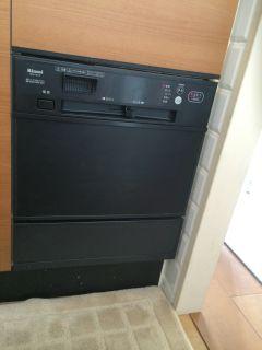 ハーマン ガスコンロ C3WK3RJTSKSG / リンナイ 食器洗乾燥機 RKW-F401A 交換工事