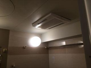 MAX 浴室換気乾燥機 BS-123EHAL 交換工事